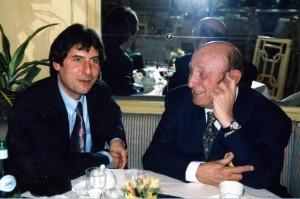 Avec Frédéric Dard, 1997
