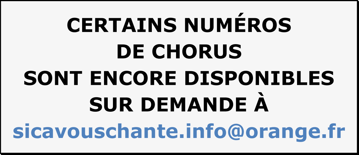 Chorus-dispos