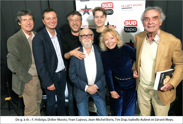 Sud Radio avec JMB et Meys Aubret Cujious